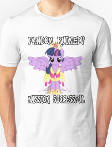 Evil Twilight Sparkle - End of Brony Unisex T-Shirt