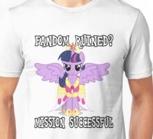 Evil Twilight Sparkle - End of Brony Unisex T-Shirt