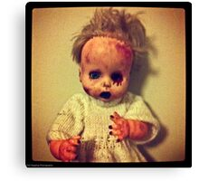Zombie Doll Canvas Print