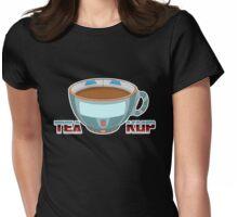 Tea Kup Womens Fitted T-Shirt