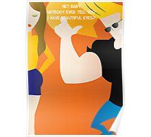 Johnny Bravo - Dating tips Poster