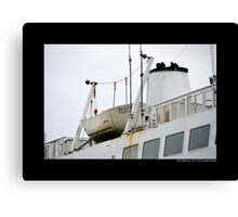 Park City Ferry Lifeboat - Port Jefferson, New York Canvas Print