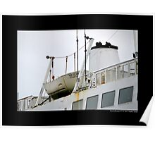 Park City Ferry Lifeboat - Port Jefferson, New York Poster