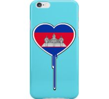THE KINGDOM OF CAMBODIAN BLEEDING HEART iPhone Case/Skin