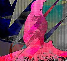 Abstract Dancing Eagle Design by JosePracek