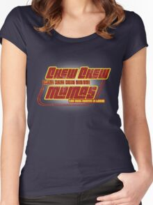 CHEW CHEW MAMAS Women's Fitted Scoop T-Shirt