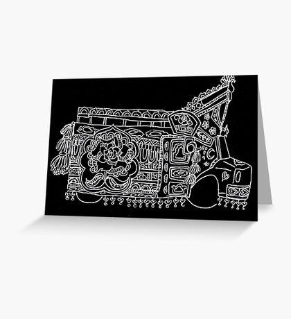 Solitary Truck - Truck Art Greeting Card