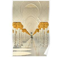 Tranquility of the Colonnade Poster