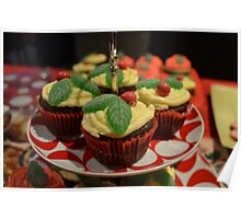 Christmas in July - Cupcakes Poster