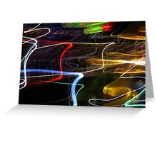 Lights on the Harbour Greeting Card