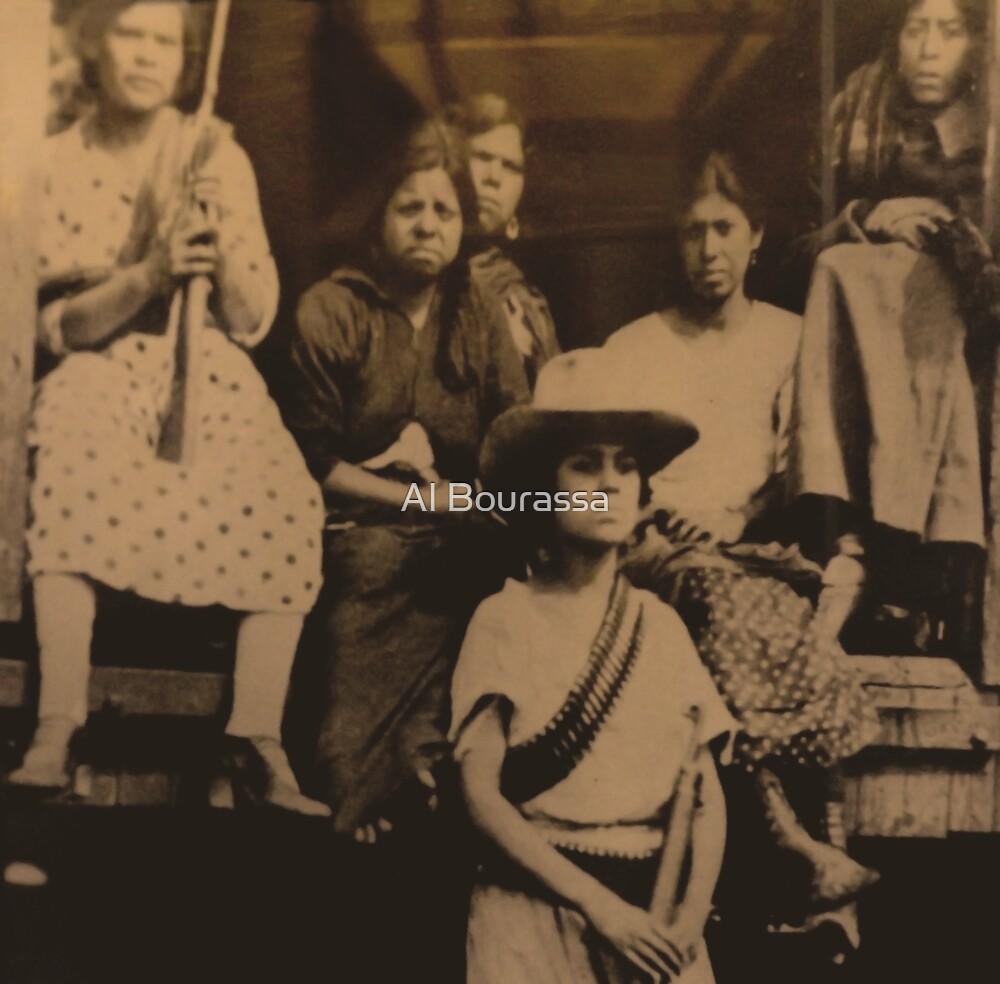 Female Revolutionaries by Al Bourassa