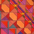 COLORFUL POLYGONS by cindy gottfried