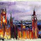 London Sketch by Cameron Hampton