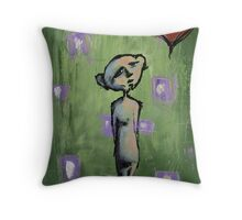 Thought Bubble (brainstemming.com) Throw Pillow
