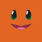 Charmander IPhone case by Sam Mobbs