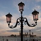 Lamppost, St Mark's Sqaure by Barbara Wyeth