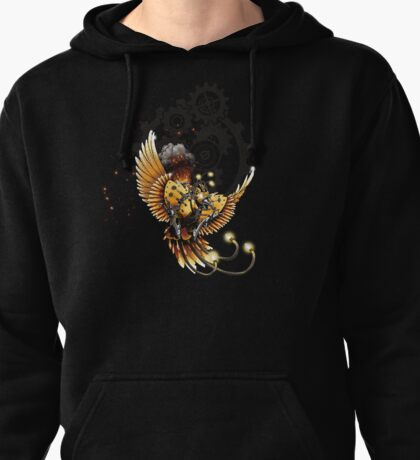Rising From the Steam Pullover Hoodie