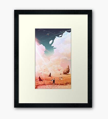 Far From Home Framed Print