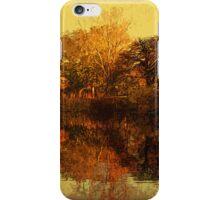 Autumn gardens iPhone Case/Skin
