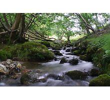 Welsh stream Photographic Print