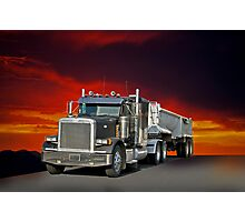 Peterbilt Hauler I Photographic Print