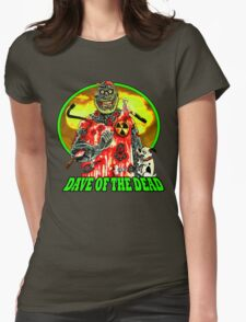 Dave of the Dead  Womens Fitted T-Shirt