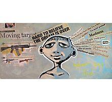 Never Say Die (brainstemming.com) Photographic Print
