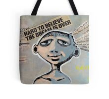 Never Say Die (brainstemming.com) Tote Bag
