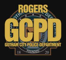 Custom Gotham Police (Rogers) Kids Clothes