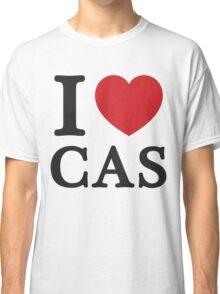 I Love Cas ( Red Heart ) Classic T-Shirt