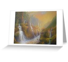 Rivendell.( Wisdom Of The Elves Greeting Card