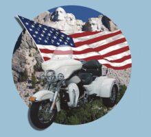 Patriotic Trike by flyoff