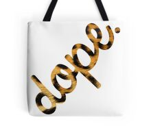 DOPE Leopard Type Tote Bag
