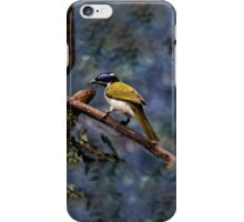Blue-faced Honeyeater iPhone Case/Skin