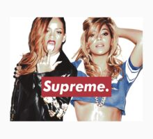 "Rihanna and Beyonce ""SUPREME"" by ElectricNeff"