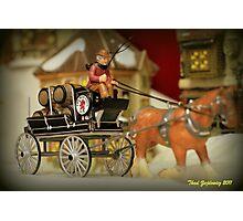 Beer Wagon Photographic Print