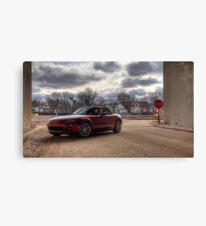 Mazda Miata HDR Canvas Print