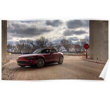 Mazda Miata HDR Poster
