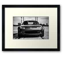 Handles like it's on rails Framed Print