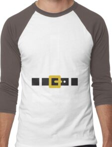 Santa Claus suit Men's Baseball ¾ T-Shirt