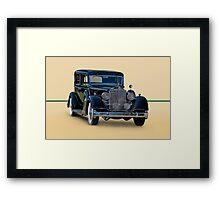 1932 Packard Sedan Framed Print