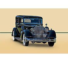 1932 Packard Sedan Photographic Print