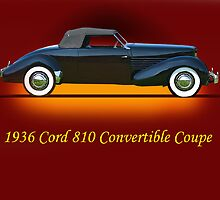 1936 Cord 810 Convertible w/ID by DaveKoontz