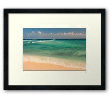 Emerald Waters Framed Print