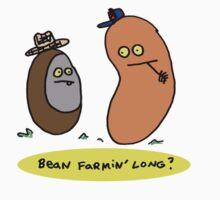 Bean Farmin' Long? (t-shirt, hoodie) One Piece - Short Sleeve