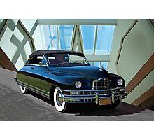 1948 Packard Custom 8 Convertible Photographic Print
