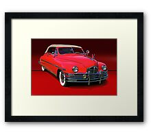 1948 Packard Super 8 Victoria Convertible Framed Print