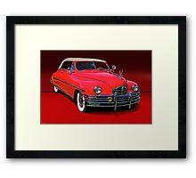 1948 Packard Super 8 Victoria Convertible Framed Print