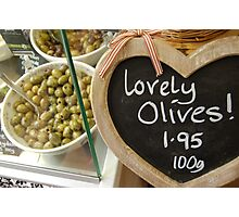 Lovely olives! Photographic Print