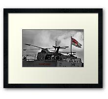HMS Dauntless Lynx Framed Print